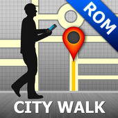 Rome Map and Walks icon