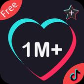 TikGrow for Tiktok Video Likes & Views & Hearts icon