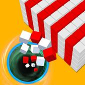 color hole bump 3d games for free- black hole game icon