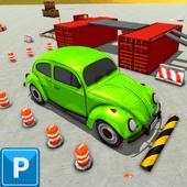 Classic Car Games 2021: Car Parking icon