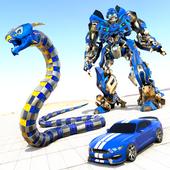 Anaconda Robot Car Games: Mega Robot Games icon