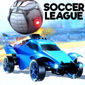 Rocket Car Soccer league - Super Football icon