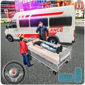 Real City Ambulance Simulator & Rescue icon