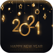 Happy New Year 2021 icon