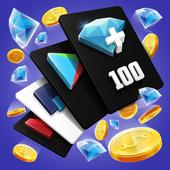 Free Diamonds, Elite Pass, Game Cash & Gift Cards icon