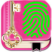 My Personal Diary with Fingerprint Password icon