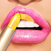 Lip Art Makeup Artist - Relaxing Girl Art Games icon