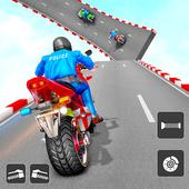 Police Bike Stunt Games: Mega Ramp Stunts Game icon