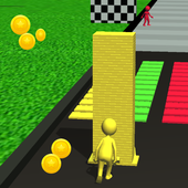 3D Stack Colors Tower icon