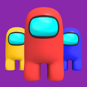 IMPOSTOR VS CREWMATE - Free Game Offline icon