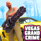 Real Vegas Crime Simulator: Free Open World Games icon