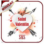 joyeuse saint valentin 2021 meilleurs SMS icon