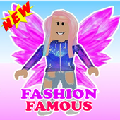 Fashion Famous Frenzy Dress Up Runway Show obby icon
