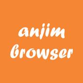 Anjim Browser - Browser Cepat Anti Blokir icon