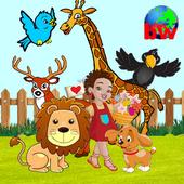 Zoo For Preschool Kids - Balloon Game icon