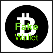 Fake Bitcoin Wallet icon