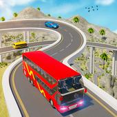 Uphill Euro Coach Bus Driving Simulator: Bus Games icon