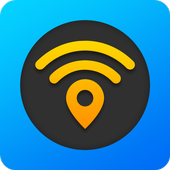 Free WiFi Passwords, Offline maps & VPN. WiFi Map® icon