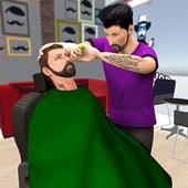 Virtual Barber Shop Simulator: Hair Cut Game 2020 icon