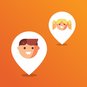 Where is the kid - phone GPS location tracker icon
