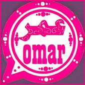 وتس عمر الجديد ضد الحظر الوردي icon