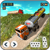 Offroad Oil Tanker Truck Driving: Truck Games 2021 icon