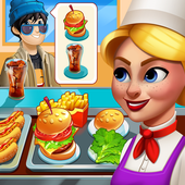Cooking Mania - Girls Games Food Craze Restaurant icon