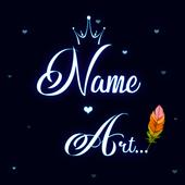 Your Name Art Effect :3D Name Text,Name Art Studio icon