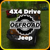 4X4 Drive: Off-road Jeep icon