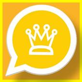 وتس الذهبي بلس اب الجديد الحديث التاج icon
