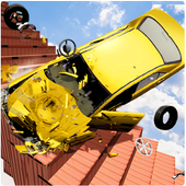 Beam Drive Crash Death Stair Car Crash Accidents icon