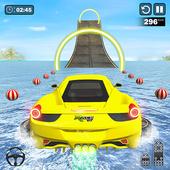 Water Surfing Car Stunts icon