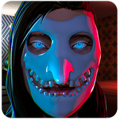 Smiling Zero with Evil Lord: Puzzle horror game. icon