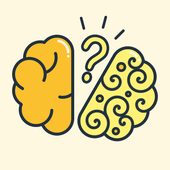 Break your brain: thinking games, iq test icon