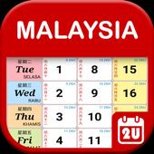 Malaysia Calendar icon