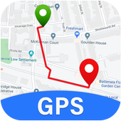 Live GPS Maps, Voice Navigation & Free Street View icon