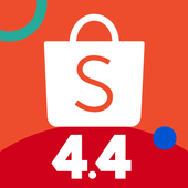 Shopee 4.4 Mega Shopping Day icon