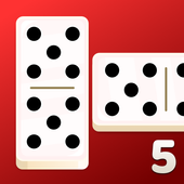 All Fives Dominoes - Classic Domino Free Games icon