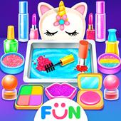 Unicorn Slime Makeup Kit - Fun Games for Girls icon