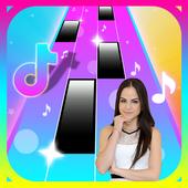 Natti Natasha 🎹 piano tiles icon