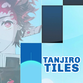 Anime Piano Demon Slayer Tanjiro Tiles icon