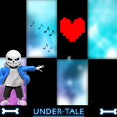 Piano for Video Game undertale sans and deltarune icon