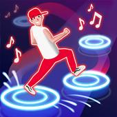 Dance Tap Music-rhythm game offline, just fun 2021 icon