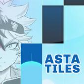 Piano Anime Black Asta Clover Tiles icon