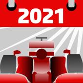 Racing Calendar 2021 (No Ads) icon