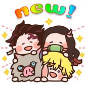 Anime Sticker app for Kimetsu noYaiba fans icon