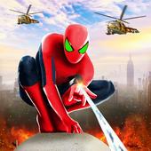 Spider Rope Hero Man icon