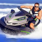 Jet Ski Boat Racing stunts: Top Speed boat Games icon