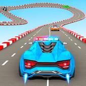 Police Car Stunt Games - Mega Ramps Car Games icon