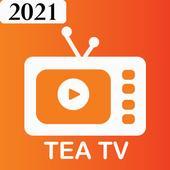 Tea tv free movies app icon